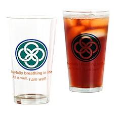 Joyful Celtic Drinking Glass