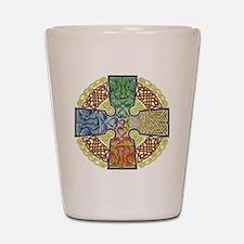 Celtic Cross Earth-Air-Fire-Water Shot Glass