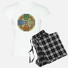 Celtic Cross Earth-Air-Fire Pajamas