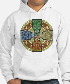 Celtic Cross Earth-Air-Fire-Wate Jumper Hoody