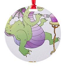 dragoncandle-5x7card Ornament