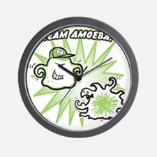 team-amoeba-greener Wall Clock
