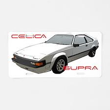 Toyota-Supra Aluminum License Plate