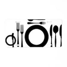 menu_special Aluminum License Plate