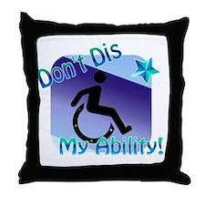 2-dontdis1png Throw Pillow