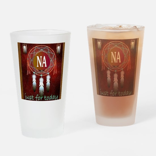 2-NA INDIAN Drinking Glass