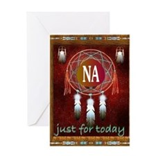 2-NA INDIAN Greeting Card