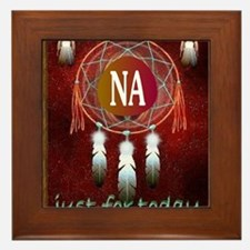 2-NA INDIAN Framed Tile