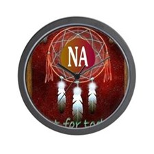 2-NA INDIAN Wall Clock