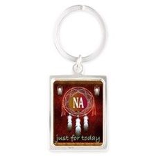 2-NA INDIAN Portrait Keychain