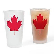 canada_leaf Drinking Glass
