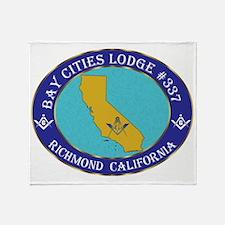 bay city CALIFMASON Throw Blanket