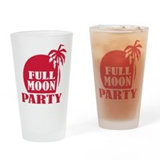 full_moon_party_palm Drinking Glass