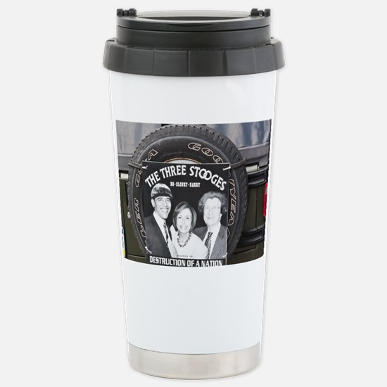 2-3stooges Stainless Steel Travel Mug
