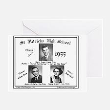 Z-1955-StP Geo HS Greeting Card