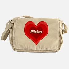 Pilates Expanding Heart Messenger Bag