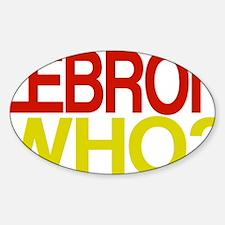 WHO2 Sticker (Oval)