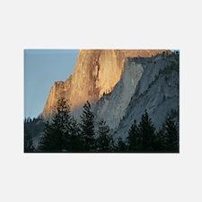 Yosemite_Half_Dome Rectangle Magnet