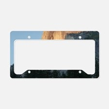 Yosemite_Half_Dome License Plate Holder