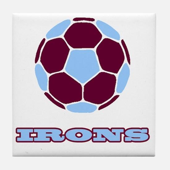 IRONS copy Tile Coaster