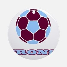 IRONS copy Round Ornament