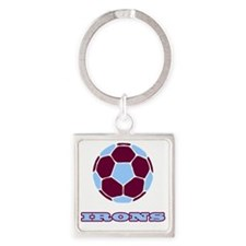 IRONS copy Square Keychain