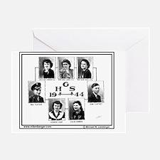 Z-1944-StP Geo HS Greeting Card