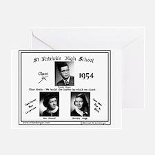 Z-1954-StP Geo HS Greeting Card