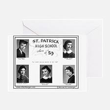 Z-1959-StP Geo HS Greeting Card