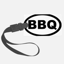 bbq_car Luggage Tag