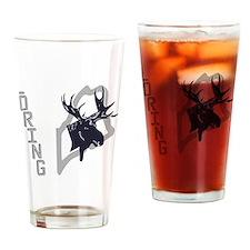 Loring - Moose - Ghost Grey Drinking Glass
