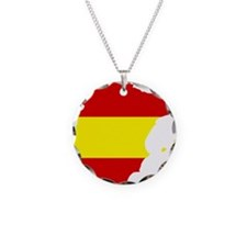 spain_map_3c Necklace Circle Charm
