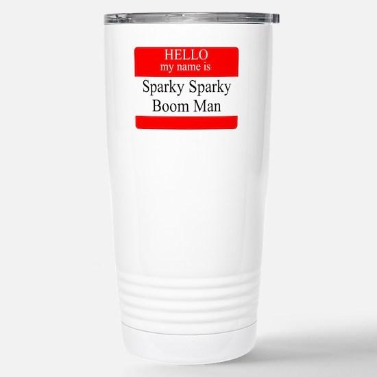 SSBM Stainless Steel Travel Mug