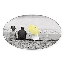 Yellow Parasol Decal