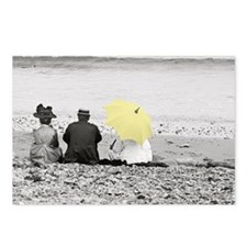 Yellow Parasol Postcards (Package of 8)