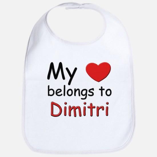 My heart belongs to dimitri Bib