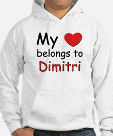 My heart belongs to dimitri Hoodie