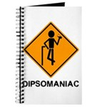 Caution Dipsomaniac Journal