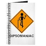 Caution Dipsomaniac Journal