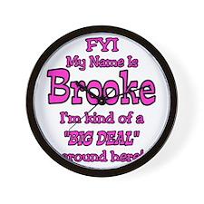 Brooke Wall Clock