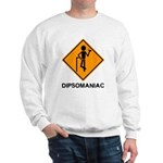 Caution Dipsomaniac Sweatshirt