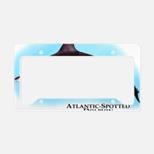 Atlantic Spotted Dolphin License Plate Holder