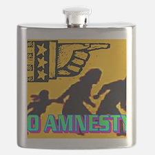 NO AMNESTY!(wall calendar) Flask