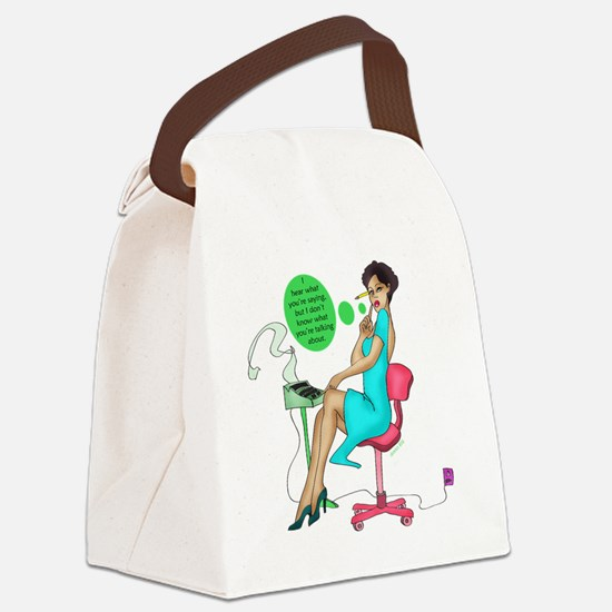2-reporter_3 Canvas Lunch Bag