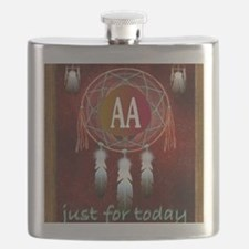 AA INDIAN Flask