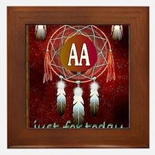 AA INDIAN Framed Tile