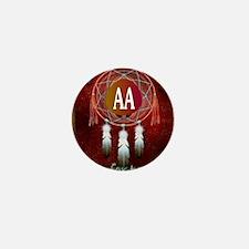 AA INDIAN Mini Button