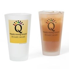 Happily Yellow Drinking Glass