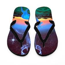 Venadito Azul Flip Flops
