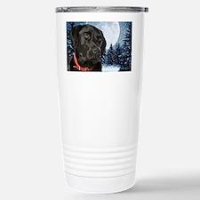 WinterLabCard Travel Mug